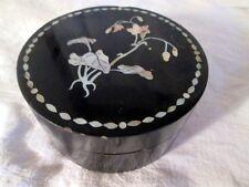 ANCIENNE BOITE A BIJOUX JAPON  BOIS LAQUE NACRE ANTIQUE LACQUER JAPANESE BOX