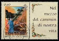 Vaticaan gestempeld 2009 used 1653 - Dag van de Italiaanse Taal