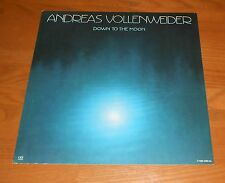 Andreas Vollenweider Down to the Moon Poster 2-Sided Flat 1986 Promo 12x12 Rare