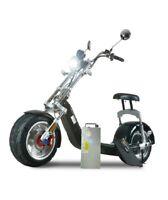 Neuf Scooter Électrique Electric Citycoco 1200W 20AH Eec / Coc