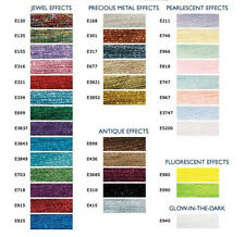 ! ENVÍO GRATIS! DMC LIGHT EFFECT THREAD - 7 Madejas Nuevo DMC - Escoge colores