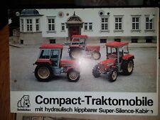 Prospekt Sales Brochure Schlüter Compact Traktomobile Technische Daten Traktor