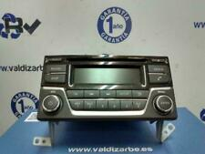 System Audio/ Radio CD/28185BV80A 2504796 For Nissan Juke (F15) Tekna