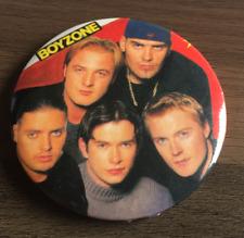BOYZONE LARGE BUTTON BADGE 90s BOYBAND No Matter What - Ronan Keating  55mm Pin