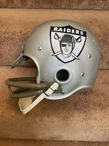 Jim Otto Oakland Raiders RK Vintage 1963 Style Football Helmet
