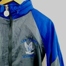 Vintage Air Force Academy Track Suit Jacket & Pants Running Military Men's Large