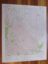 Prado Dam California 1958 Original Vintage USGS Topo Map
