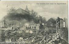 AK Das zerstörte Dorf Autry im Argonnerwald, 2.INF.MUN.KOL. XIII. (K.W.) A.K.
