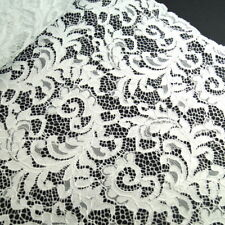 100% Polyester Corded Lace By Fabric Freedom Bridal Wedding Flower Girl 150cm