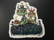 "MARQ SPUSTA 4"" Old Friends 1 STICKER Art from silkscreen poster print"
