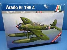 1/48 Italeri (2009): WW II Aufklärer Ar-196 A ( 4 Decalopt.)