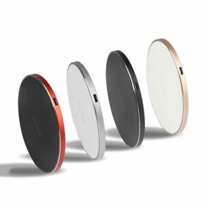10W Qi Wireless Charger Charging Pad For Iphone 5 5S 6 6+ X XS XR Galaxy S6/7/8