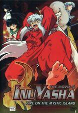 Inu Yasha: Movie 4 - Fire on the Mystic Island [New DVD] Full Frame, Subtitled