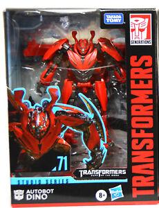 Transformers Studio Deluxe Figure Autobot Dino #71 In Stock