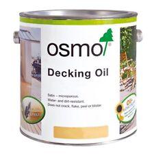 Osmo Decking Oil 750ml & 2.5L - 007 Clear, 006 Bangkirai, 016 Dark Bangkirai