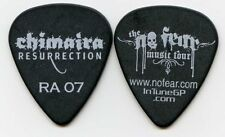 CHIMAIRA 2007 Ressurection Tour Guitar Pick!! ROB ARNOLD custom concert stage #1