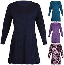 Hüftlange Damenblusen, - Tops & -Shirts mit Stretch für Business-Anlässe