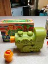 Avon Puffer Chugger bubble bath with whistle Soap coach and caboose shampoo full