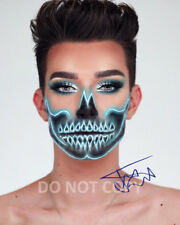 "James Charles model make-up artist reprint SIGNED 11x14"" Poster #3 Autographed"