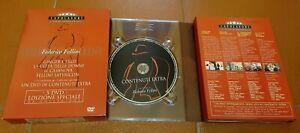 Federico Fellini cofanetto 5 dvd CAPOLAVORI
