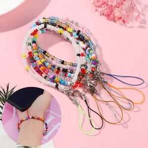 Case Hanging Cord Acrylic Bead Phone Bracelet Phone Charm Strap Mobile Chain
