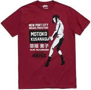 Ghost In The Shell Arise Motoko T shirt Loot Crate Exclusive Official NEW