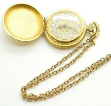 Vintage Lucerne Swiss Made Pocket Watch Pendant Type & Chain Parts Repair