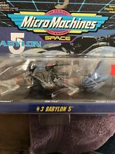 Babylon 5 Micro Machines Collections #3 New Sealed