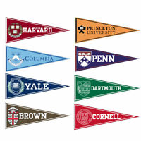Ivy League Felt Conference Pennants and Collection