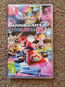 Mario Kart 8 Deluxe Nintendo Switch Game.. FAST DISPATCH 👍