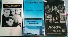 Lot of 3 Depeche Mode VHS Tapes~101~Some Great Videos~Strange Too~Vintage