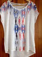 Neu mit Etikett Esprit Gr 40 42 L Oversize Shirt Top Bluse Tunika Leinen 39 €