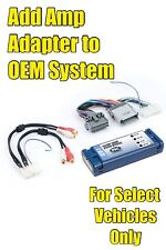 PAC AOEM-GM24 GM Add Amp Amplifier Adapter Interface Kit to Factory OEM Stereo