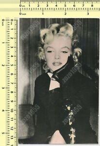 1960's Marilyn Monroe Color Tinted Yugoslavia vintage original photo postcard