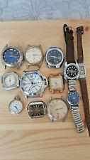 Lotti e stock 12  orologi carica manuale  vintage