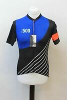RAPHA Men's Festive 500 Midweight Black Multi Cycling Jersey Size S BNWT