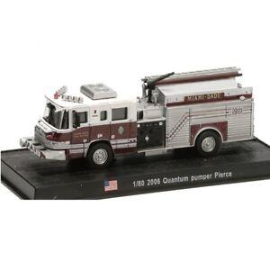 Quantum Pumper Pierce 2006 1:80 Del Prado Camion pompiers Diecast #145