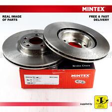 2X MINTEX FRONT DISC BRAKES MDC2485 CHRYSLER YPSILON 1.2 FIAT 500 (C) PANDA 500L