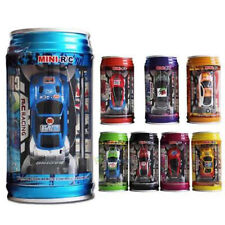 Multicolor Coke Can Mini Speed RC Radio Remote Control Micro Racing Car Kid Gift