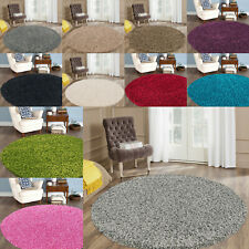 Circle Round Rug Soft Thick Shaggy Floor Mat Bedroom Living Area Carpet 120 CM