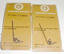 2 Allen Wrench + 8 Screws Group by Strombecker (10) items Original Slot Car NOS