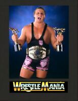 Owen Hart Blue Blazer Wrestling Legend Display Mounted Photograph A4 Retro Gift