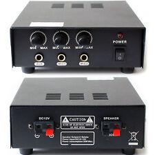 MOBILE / PA Veicolo 30W Amplificatore / Amp -12 V DC-AUTO CORNO pubblico Altoparlante canvasing