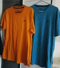 2 x Mens Hollister california must have collection T-shirts size Large see photo