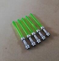 LEGO - bulk starwars trans green light saber packs!!! WEAPONS FOR MINIFIGURES