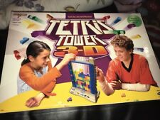 Tetris Tower Electronic 3-D Game Radica COMPLETE Tested Working Lights & Sounds