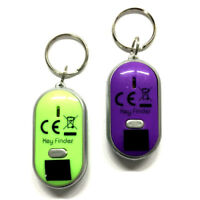 2x Schlüsselfinder lila & grün | Schlüsselsucher | Schlüsselanhänger LED Lampe