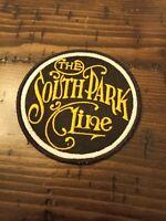 1980's Vintage South Park Line Train hat patch badge fa
