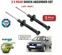 REAR LEFT + RIGHT SHOCK ABSORBERS for VW POLO 1.0 1.3 1.4 1.6 1.7 1.9 1994-1999