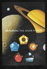 Scott #3410 Exploring the Solar System Souvenir Sheet Space Series Pentagon